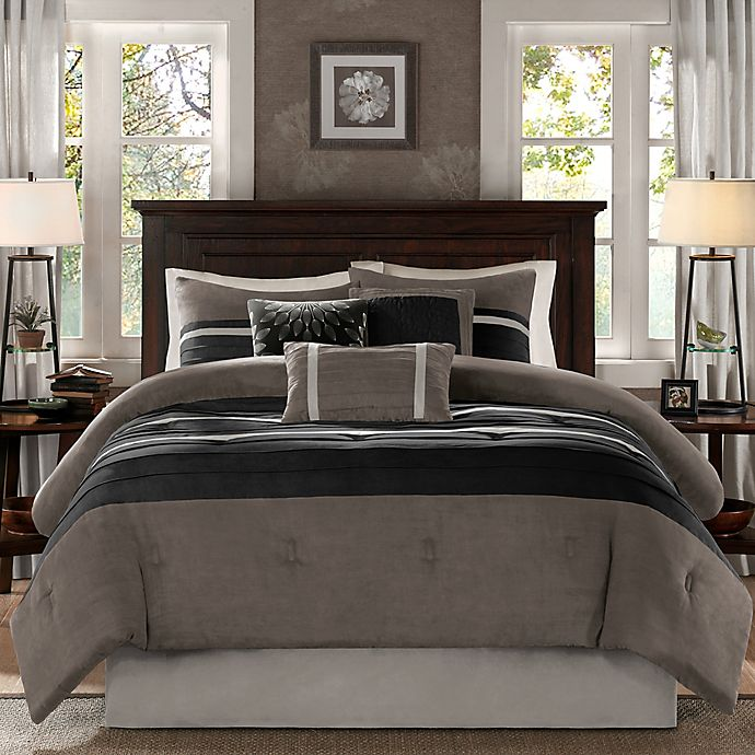 Alternate image 1 for Madison Park® Palmer 7-Piece Comforter Set