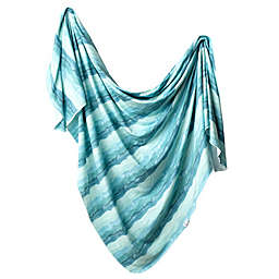 Copper Pearl™ Waves Knit Swaddle