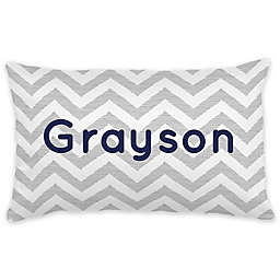 Carousel Designs® Chevron Lumbar Pillow