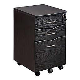 Techni Mobili Storage and File Cabinet in Espresso