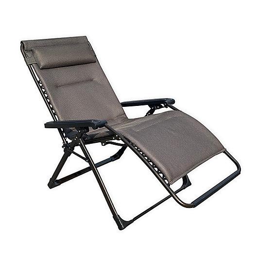 Alternate image 1 for Never Rust Aluminum Outdoor Oversized Adjustable Relaxer