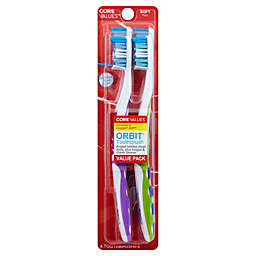 Harmon® Core Values™ Orbit Toothbrush® Value Pack (Set of 4)