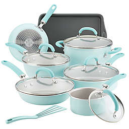 Rachael Ray™ Create Delicious Nonstick Aluminum 13-Piece Cookware Set in Blue