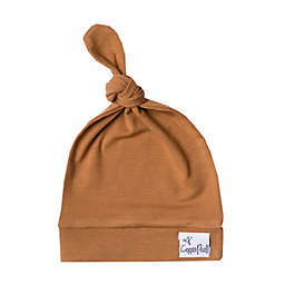 Copper Pearl™ Size 0-4M Camel Top Knot Hat