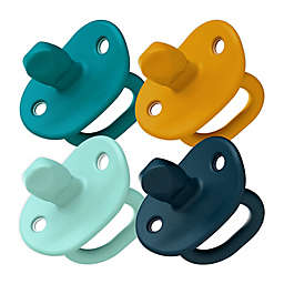 Boon JEWL Orthodontic Silicone Four-Pack Pacifier