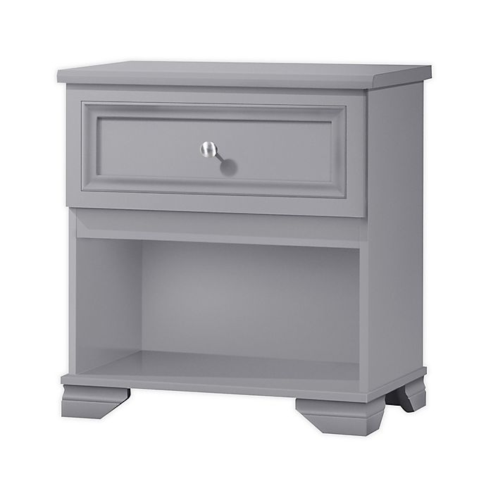 Alternate image 1 for South Lake 1-Drawer Nightstand in Grey