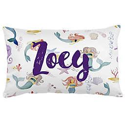 Carousel Designs® Watercolor Mermaids Lumbar Pillow