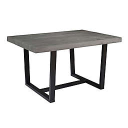 Forest Gate™ 52-Inch Rustic Solid Wood Dining Table