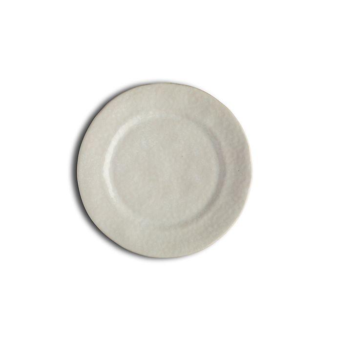Alternate image 1 for Carmel Ceramica® Cozina Dinner Plate in White
