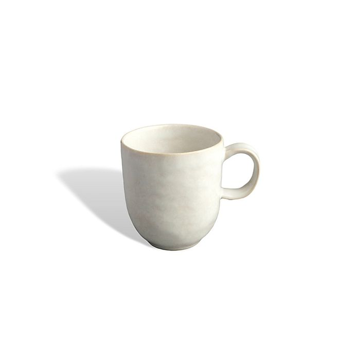 Alternate image 1 for Carmel Ceramica® Cozine Coffee Mug in White