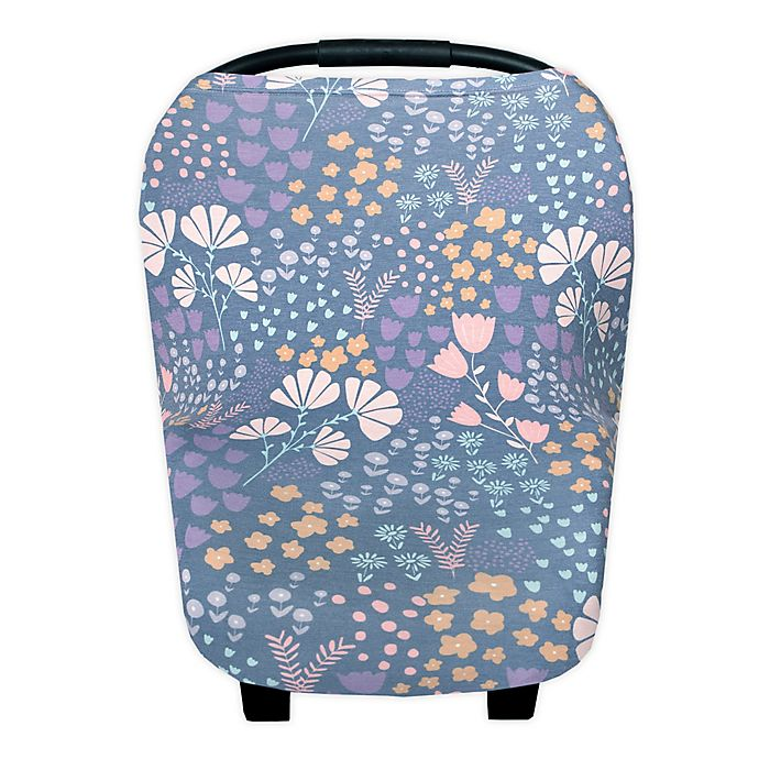 Alternate image 1 for Copper Pearl™ Meadow 5-in-1 Multi-Use Cover in Blue Floral