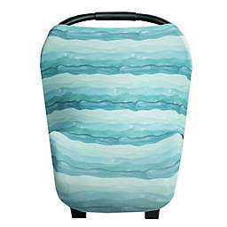 Copper Pearl™ Waves 5-in-1 Multi-Use Cover in Aqua Blue