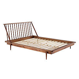 Forest Gate™ Mid-Century Spindle Queen Bed Frame