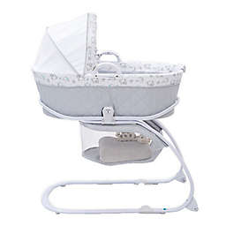 Delta Children Deluxe Moses Bassinet in Elephant Dreams