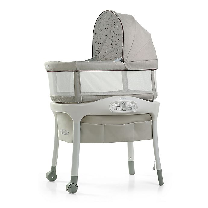 Alternate image 1 for Graco® Sense2Snooze™ Bassinet with Cry Detection™ Technology in Roma