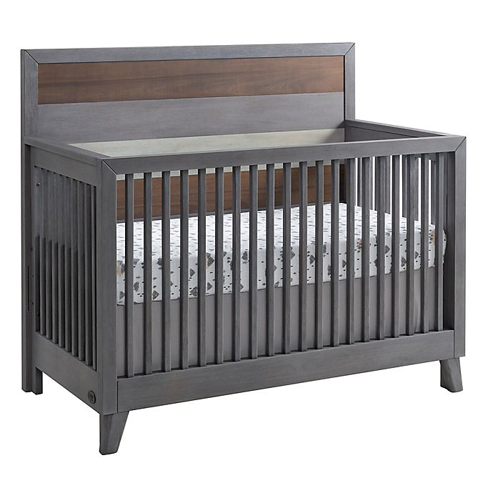 Alternate image 1 for Soho Baby Cascade 4-in-1 Convertible Crib in Grey