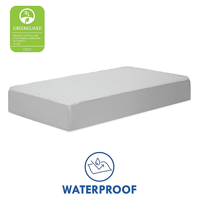 Alternate image 1 for DaVinci Deluxe Coil Extra Firm Mini/Portable Crib Mattress