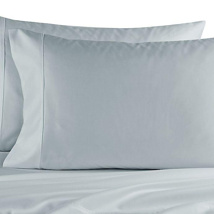 Alternate image 1 for Elizabeth Arden™ Soft Breeze Standard Pillowcase Pair in Light Blue