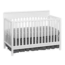 Oxford Baby Harper 4-in-1 Convertible Crib in Snow White