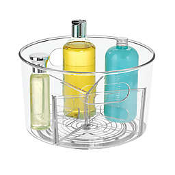 iDesign™ Clear Undersink Customizable Spinner Caddy