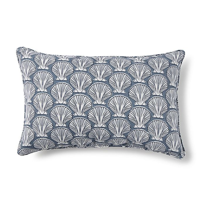 Alternate image 1 for Destination Summer Print Indoor/Outdoor 13-Inch x 20-Inch Oblong Throw Pillow