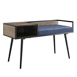Forest Gate™ 40-Inch Mid-Century Modern Entryway Bench