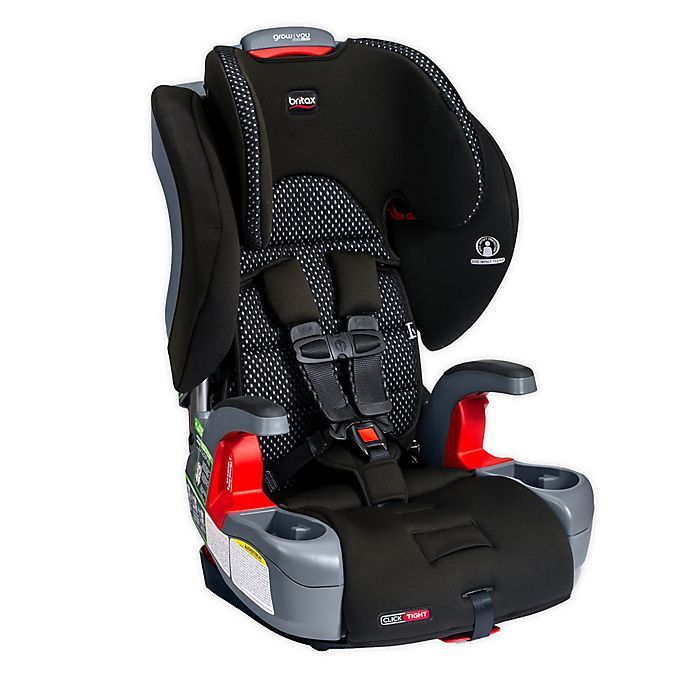 Alternate image 1 for Britax® Grow With You™ ClickTight Cool Flow Harness-2-Booster Car Seat in Grey