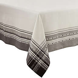 Saro Lifestyle Greyson Tablecloth in Grey