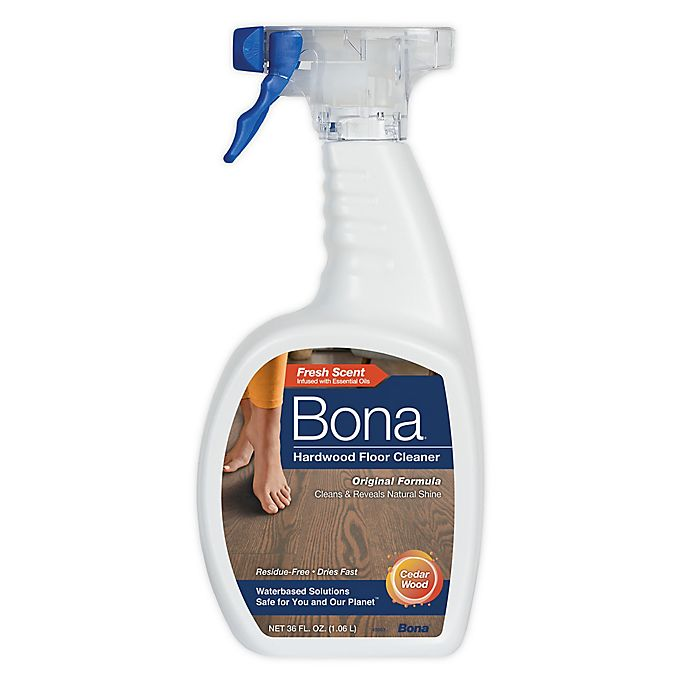 Alternate image 1 for Bona® 36 oz. Hardwood Floor Cleaner in Cedar Wood Scent