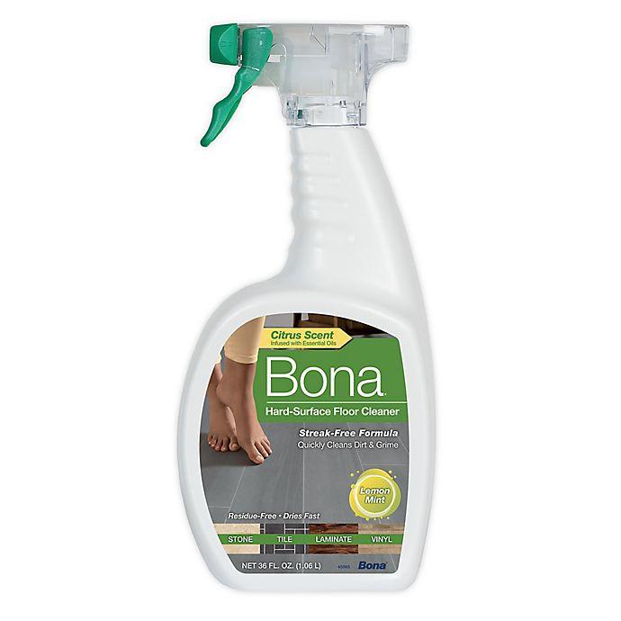 Alternate image 1 for Bona® 36 oz. Hard-Surface Floor Cleaner in Lemon Mint Scent