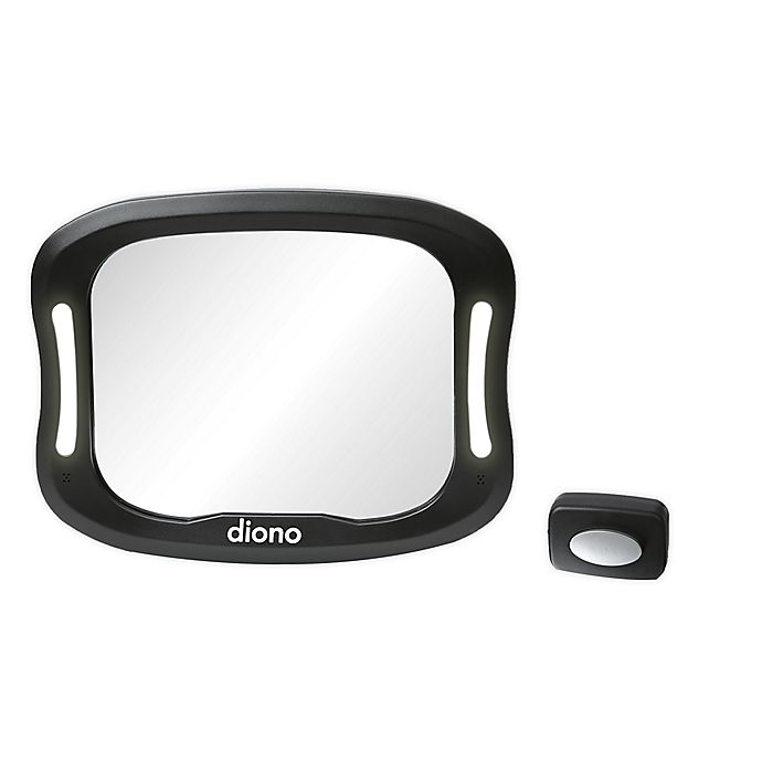 Alternate image 1 for Diono® Easy View™ XXL Mirror in Silver