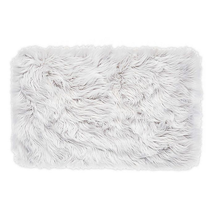 Alternate image 1 for SALT™ Arctic Faux 2' x 3' Accent Rug in Grey