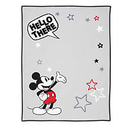 Disney® Mickey Mouse Photo Op Receiving Blanket in White