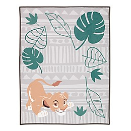 Disney® The Lion King Simba Photo Op Receiving Blanket in Taupe