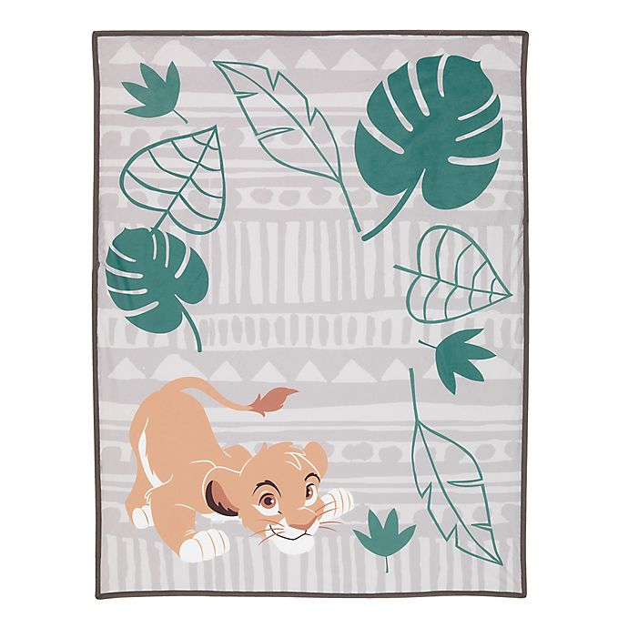 Alternate image 1 for Disney® The Lion King Simba Photo Op Receiving Blanket in Taupe