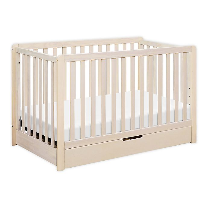 Alternate image 1 for carter's® by DaVinci® Colby 4-in-1 Crib with Drawer in Washed Natural