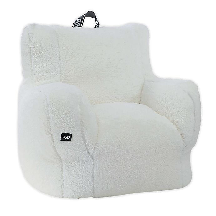 Alternate image 1 for UGG® Classic Sherpa Lounge Chair in Snow