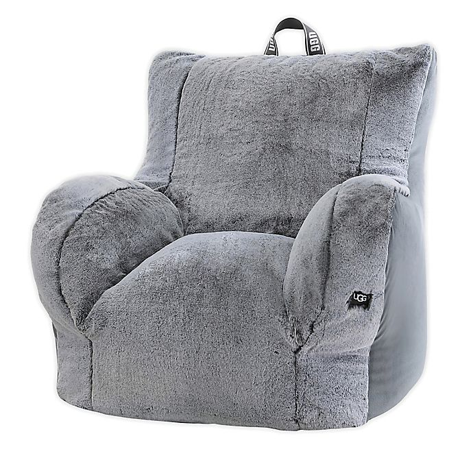 Alternate image 1 for UGG® Dawson Tip-Dyed Faux Fur Lounge Chair