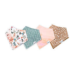 Copper Pearl 4-Pack Autumn Bandana Bibs