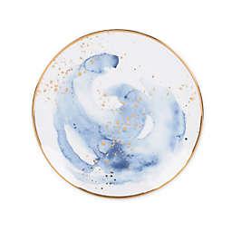 Olivia & Oliver™ Harper Splatter Gold Salad Plate in Blue