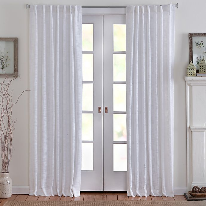 Alternate image 1 for Eastwood Rod Pocket Semi Sheer Light Filtering Window Curtain Panel