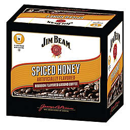 Jim Beam® Spiced Honey Bourbon Flavored Coffee Pods for Single Serve Coffee Makers 72-Count