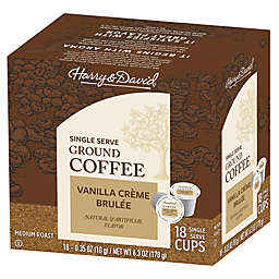 Harry & David® Vanilla Creme Brulee Coffee Pods for Single Serve Coffee Makers 72-Count