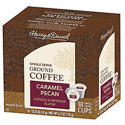 Harry & David® Caramel Pecan Coffee Pods for Single Serve Coffee Makers 72-Count