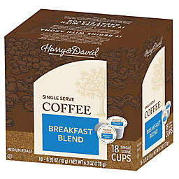 Harry & David® Breakfast Blend Coffee Pods for Single Serve Coffee Makers 72-Count