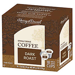 Harry & David® Dark Roast Coffee Pods for Single Serve Coffee Makers 72-Count