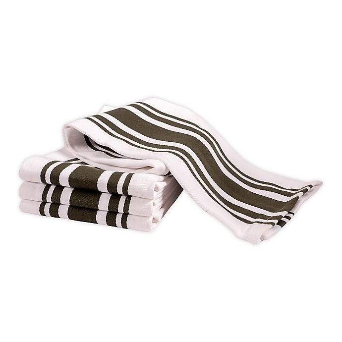 Alternate image 1 for Artisanal Kitchen Supply® All Purpose Kitchen Towels (Set of 4)