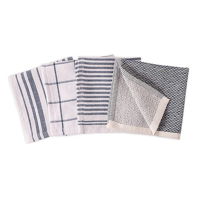 Alternate image 1 for Artisanal Kitchen Supply® Dual Sided Dish Cloths (Set of 4)