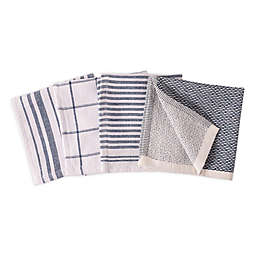 Artisanal Kitchen Supply® Dual Sided Dish Cloths (Set of 4)