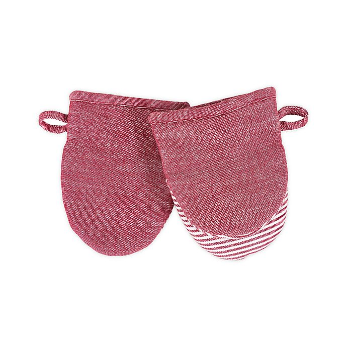 Alternate image 1 for Artisanal Kitchen Supply® Mini Oven Mitts (Set of 2)